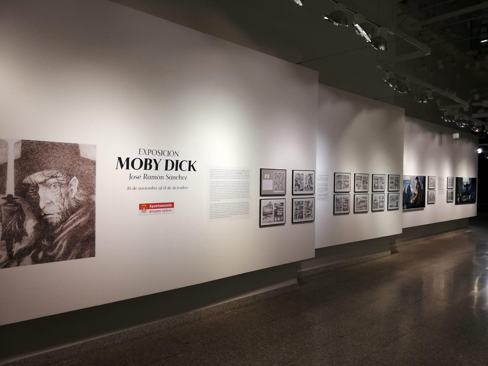 Exposición Moby Dick - Rotulación de gráfica