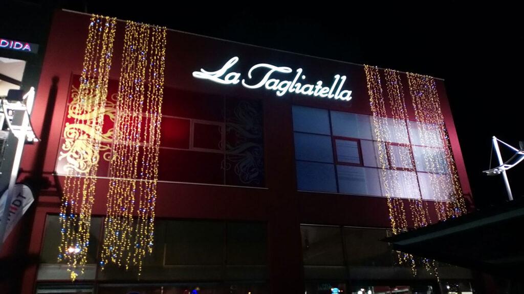 Fachada La Tagliatella