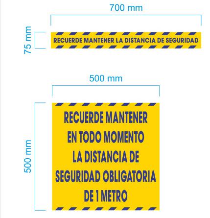 vinilos adhesivos de seguridad