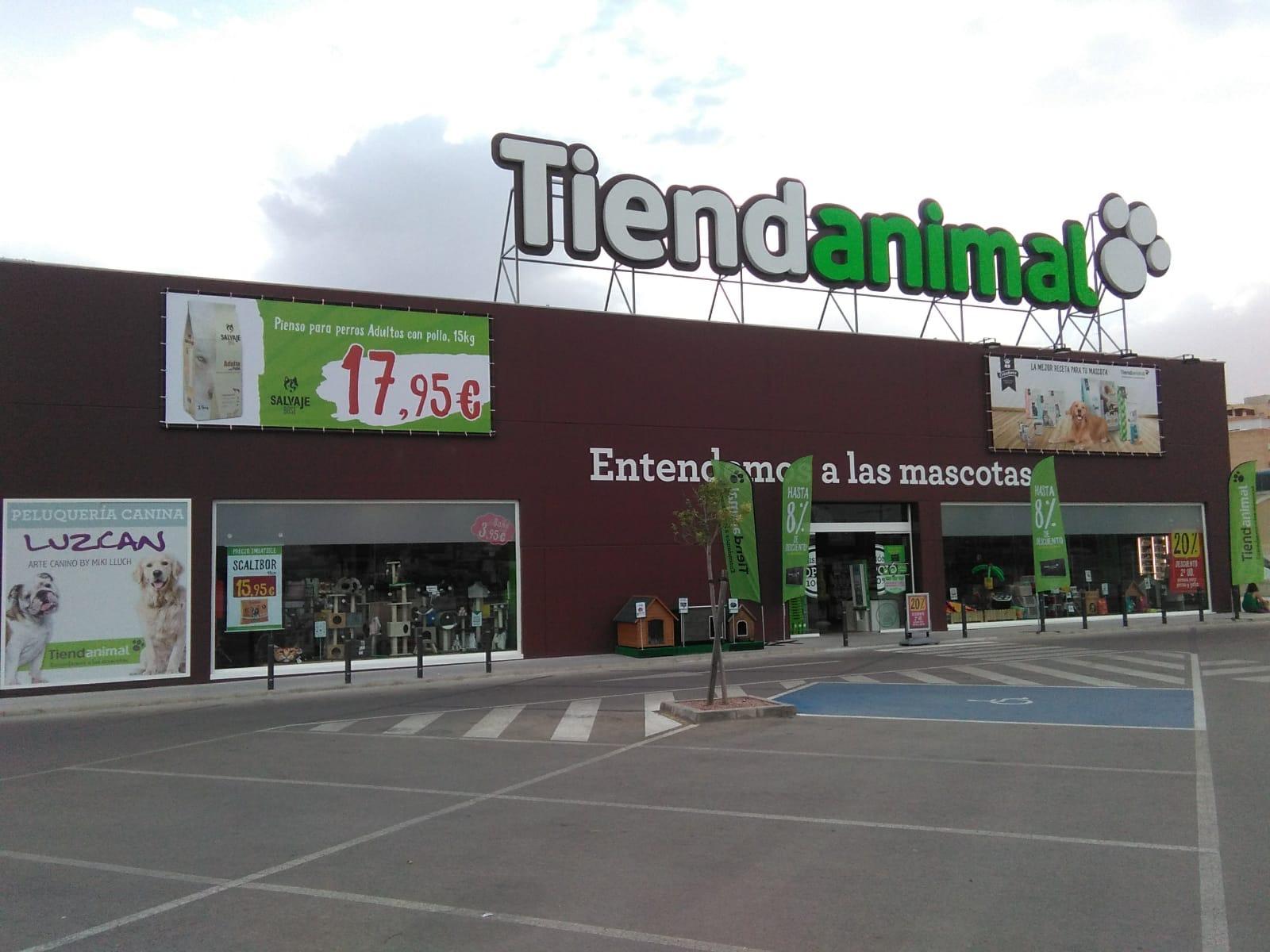 Fachada Tienda Animal
