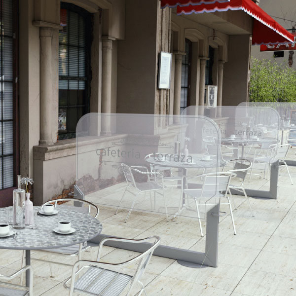 Panel divisor terrazas