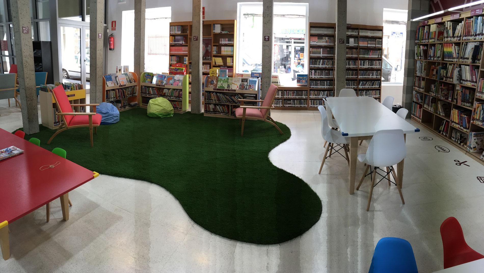 Zona infantil Biblioteca Pública de Crevillent