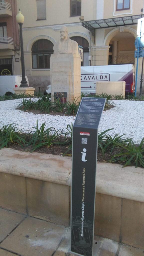 Rotulación de totem de señalética urbana